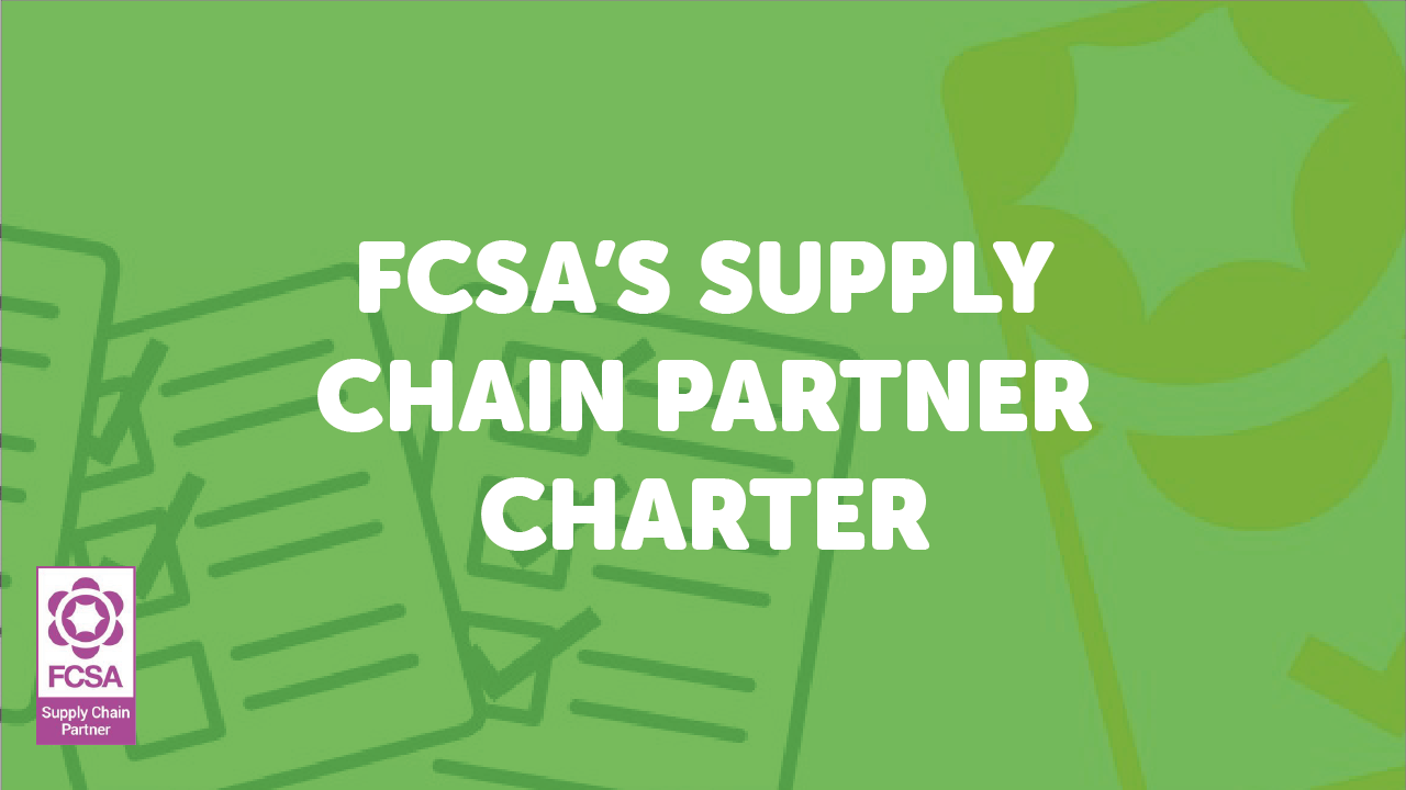 driving up standards in the supply chain