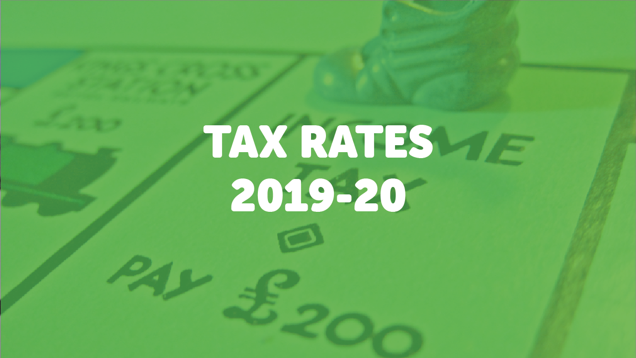 tax rates for 2019  20